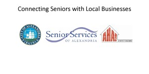 """Alexandria Times - """"Alexandria Silver Service Card connects Seniors with Local Businesses"""" - May 19"""