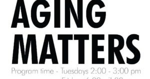 Tune in to Aging Matters