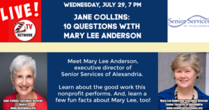 Jane Collins: 10 Questions with Mary Lee Anderson